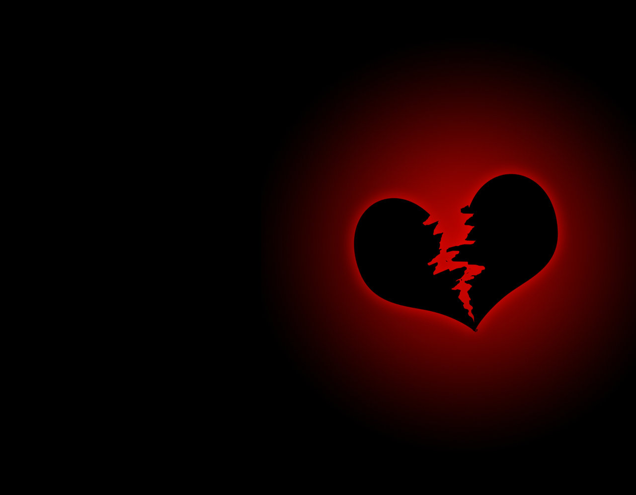 wallpaper broken heart - photo #13
