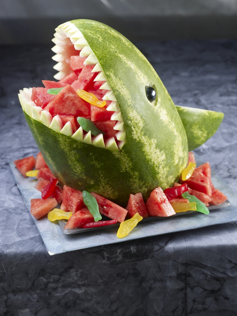 Carve Watermelon Designs 15 Inspiration Photos