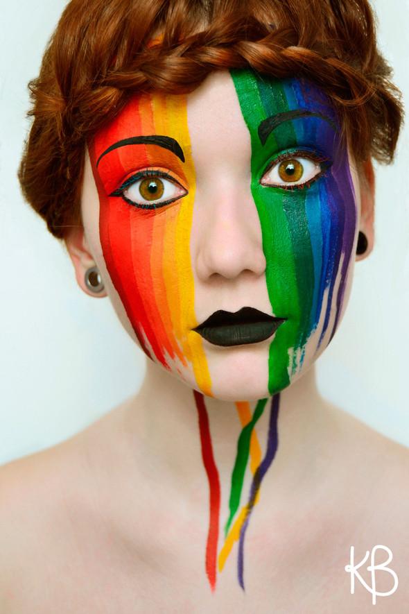 face makeup 3 inspiration photos - Makeup Face Painting Ideas