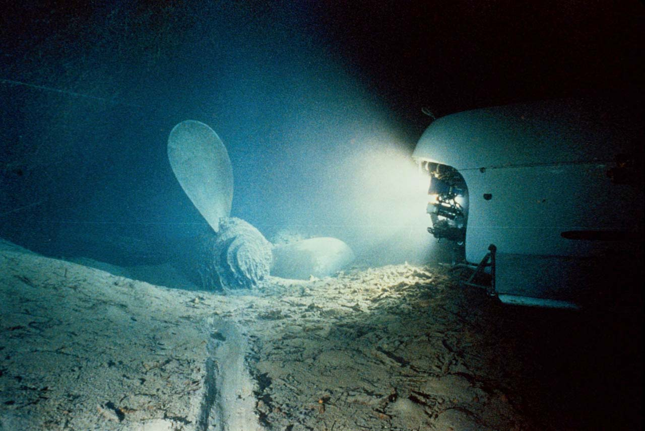 Titanic Underwater Inspiration Photos