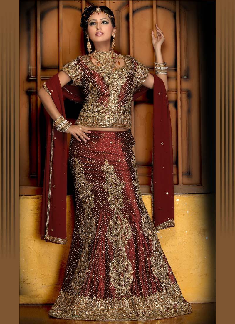 Designer Wedding Bridesmaid Dress Lehenga Choli Lengha Off Shoulder Blouse S537