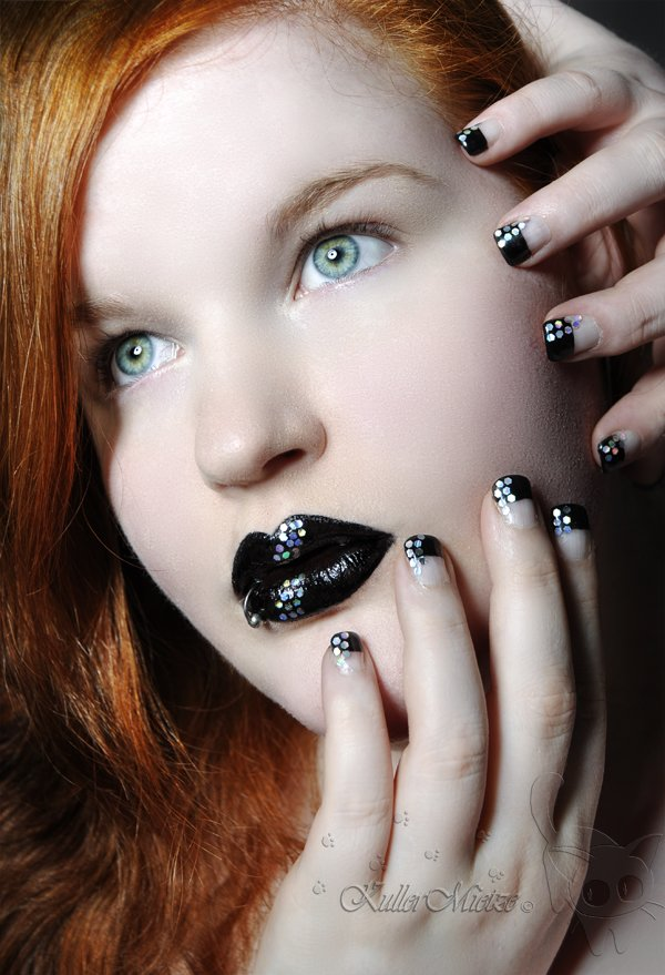 Dark Nail aRT 10 50 creative nail designs