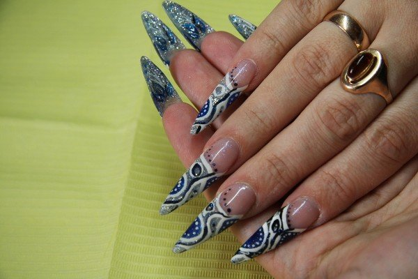Long Nail 21 50 creative nail designs