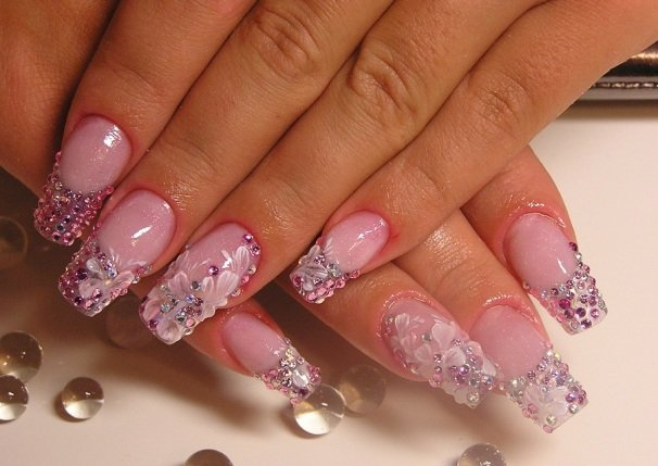 Pink Nailart 34 50 creative nail designs