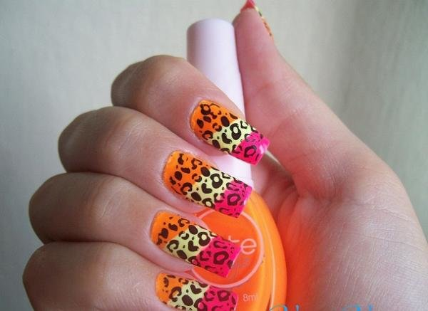 carnival nails50 50 creative nail designs