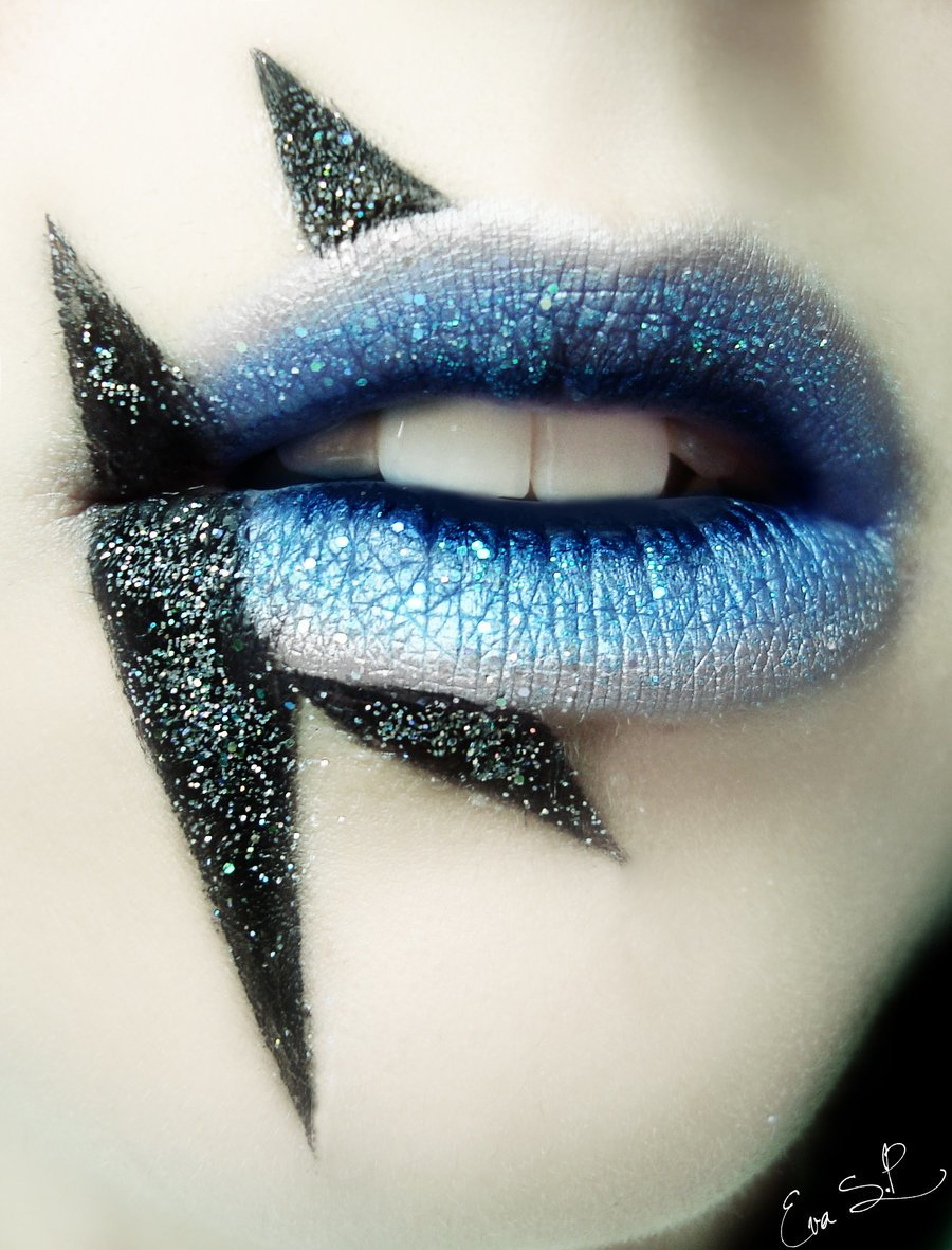 Lady Gaga inspired lips