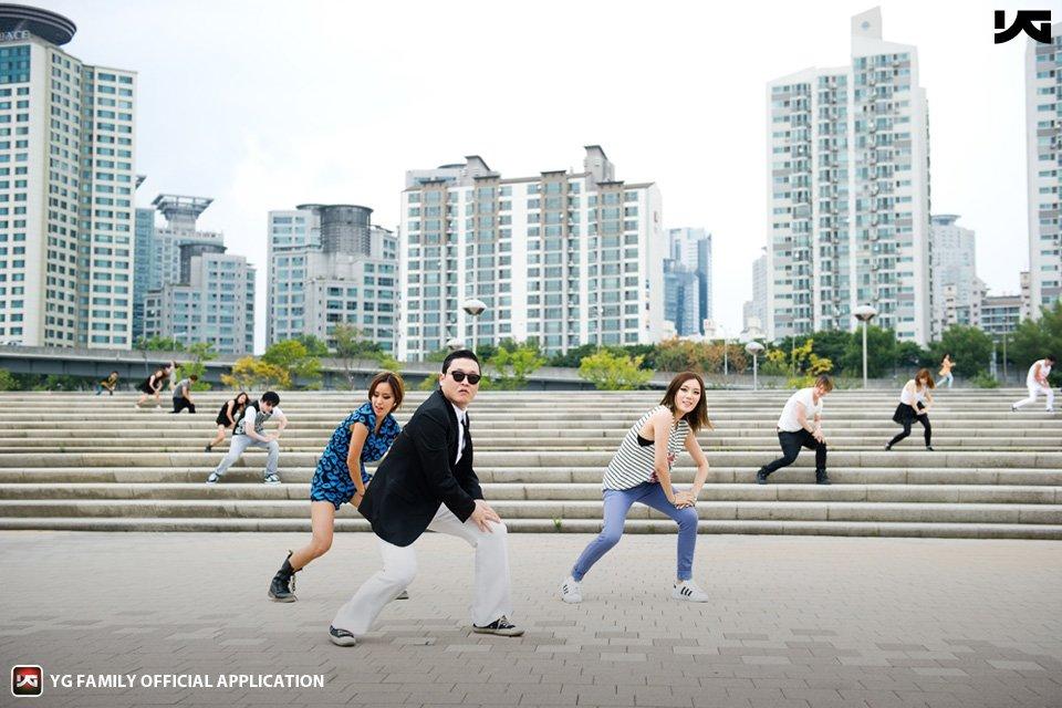 gangnam dances