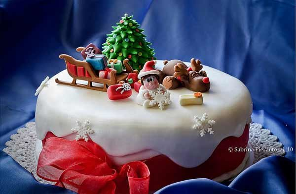 46Christmas Beautiful Christmas Cake Designs