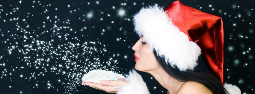 Beautiful Christmas Sanata Babe Timeline cover photos for christmas