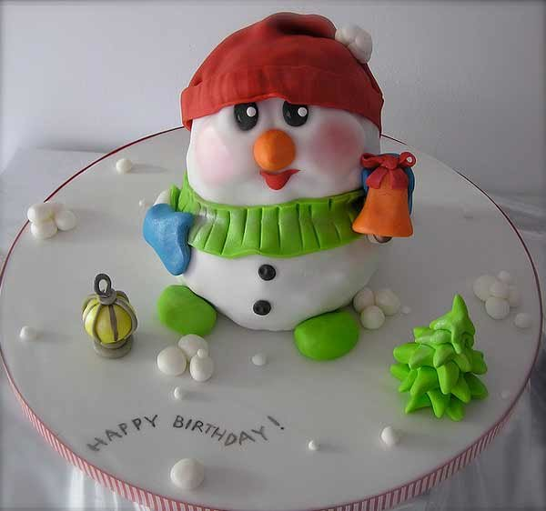 Untitled 1 Beautiful Christmas Cake Designs