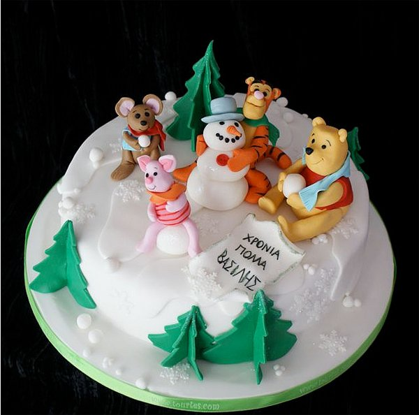 Xmas Beautiful Christmas Cake Designs
