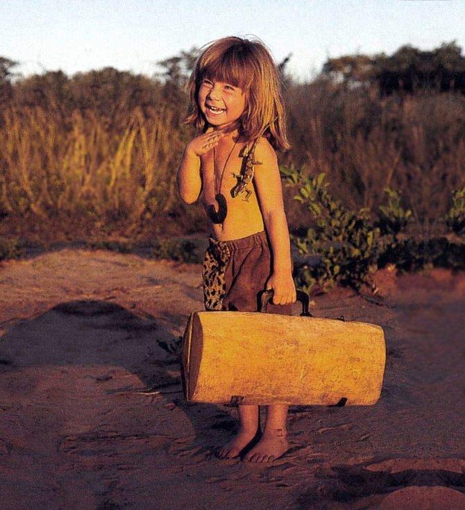 Tippi Degre, the real life Mowgli