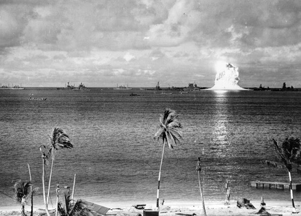 First Underwater Nuclear Explosion