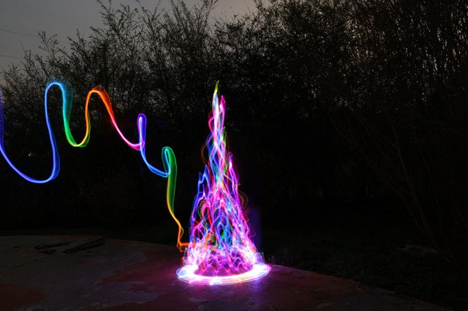 Light Paintings Photography (19)