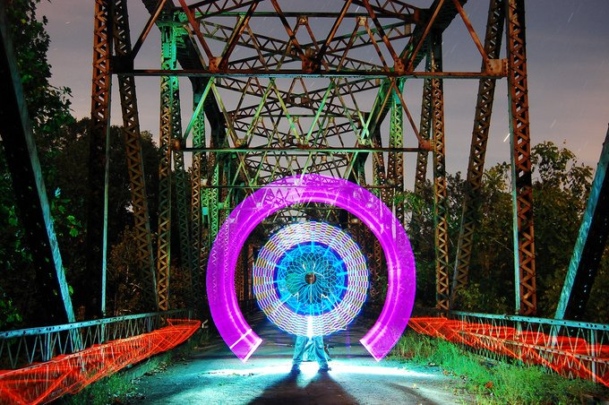 Light Paintings Photography (11)