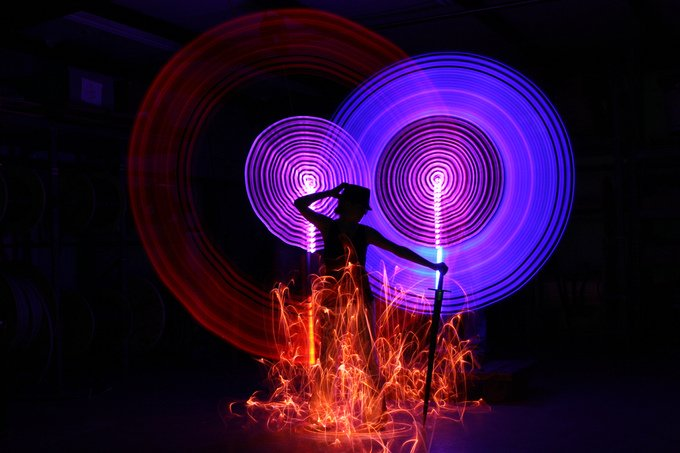 Light Paintings Photography (9)