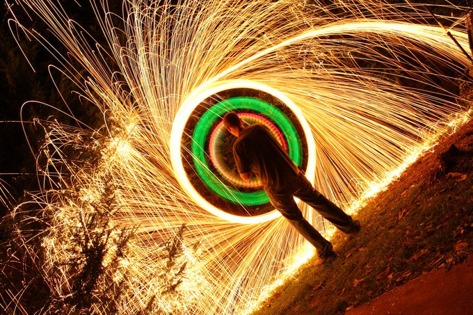 Light Paintings Photography (6)