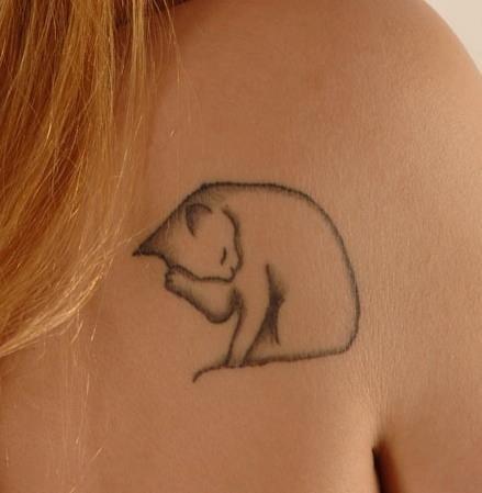Beautiful Cat Tattoos (20)