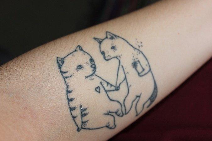 Beautiful Cat Tattoos (1)