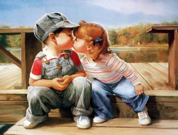 Childrens Kiss (6)