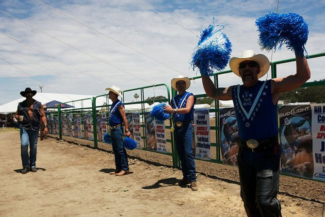 Gay rodeo. Rio Linda, CA.