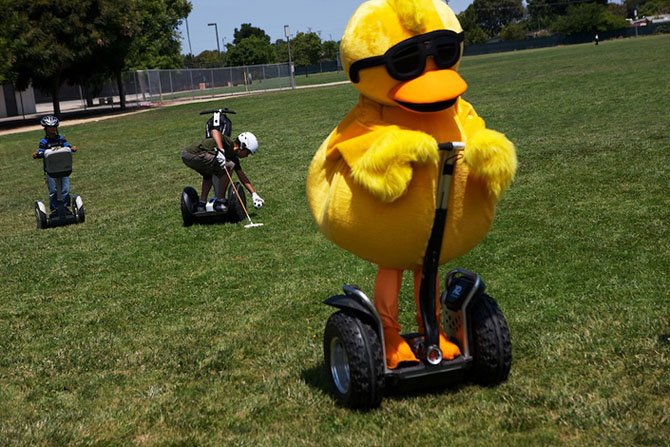 Segway polo. Sunnyvale, California.