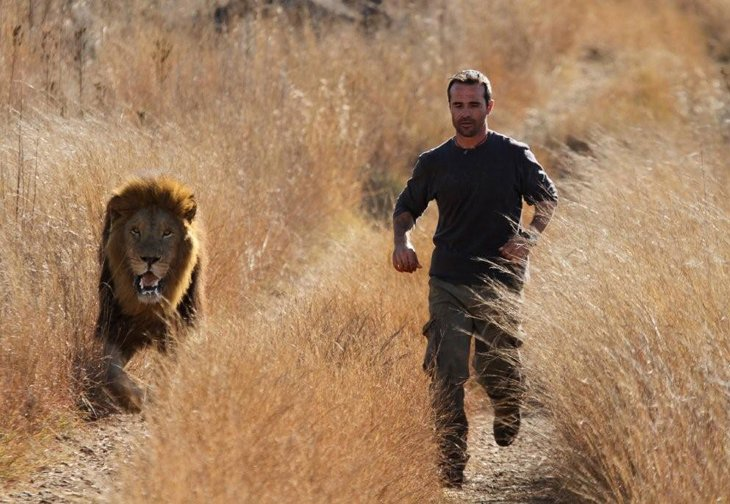 Kevin Richardson, The Lion Whisperer  (12)