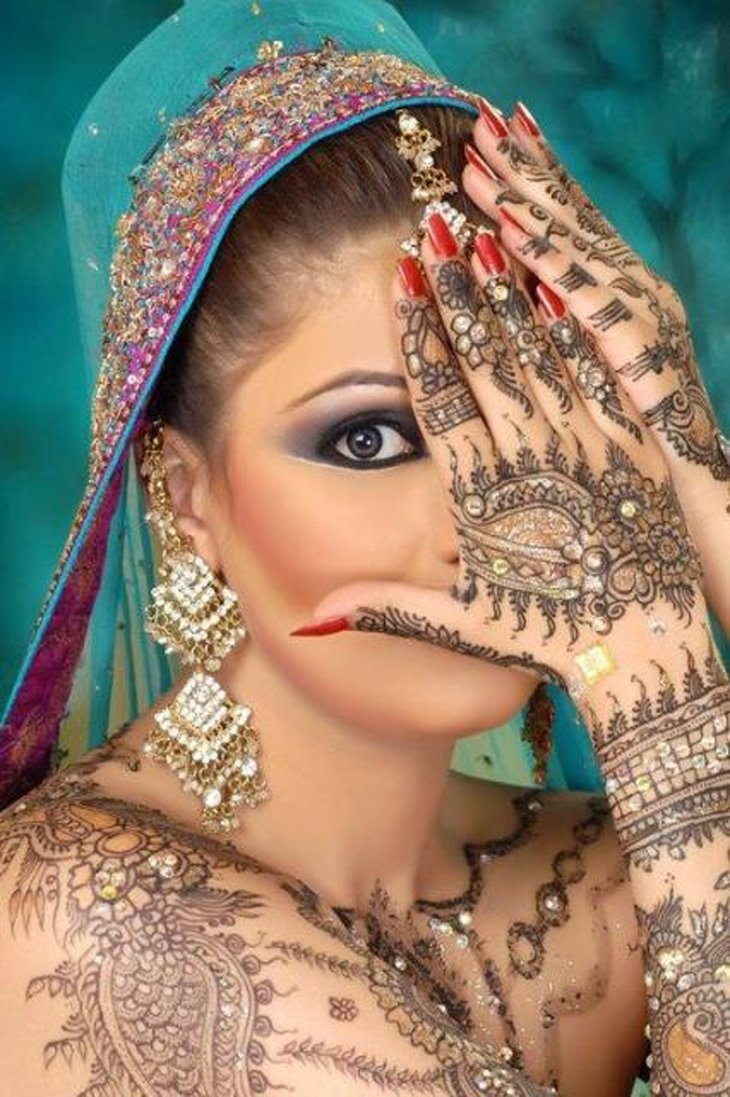 Beautiful Mehndi Designs (42)