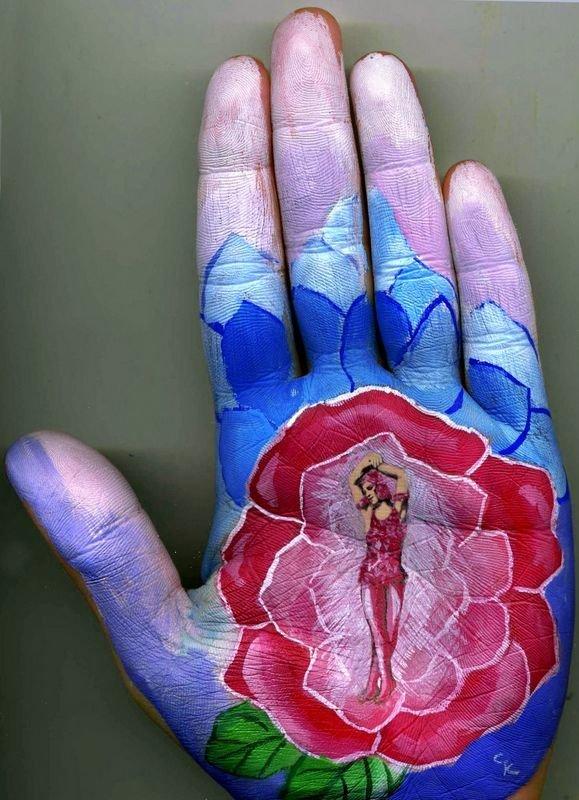 Beautiful Hand paintings by Svetlana Kolosova (14)