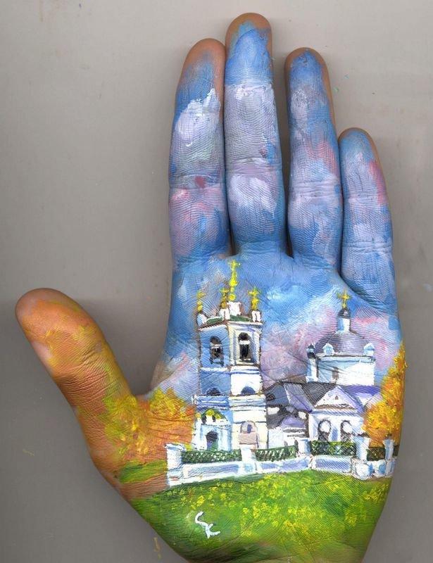 Beautiful Hand paintings by Svetlana Kolosova (13)