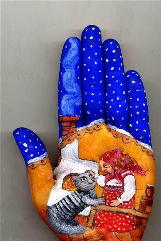 Beautiful Hand paintings by Svetlana Kolosova (12)