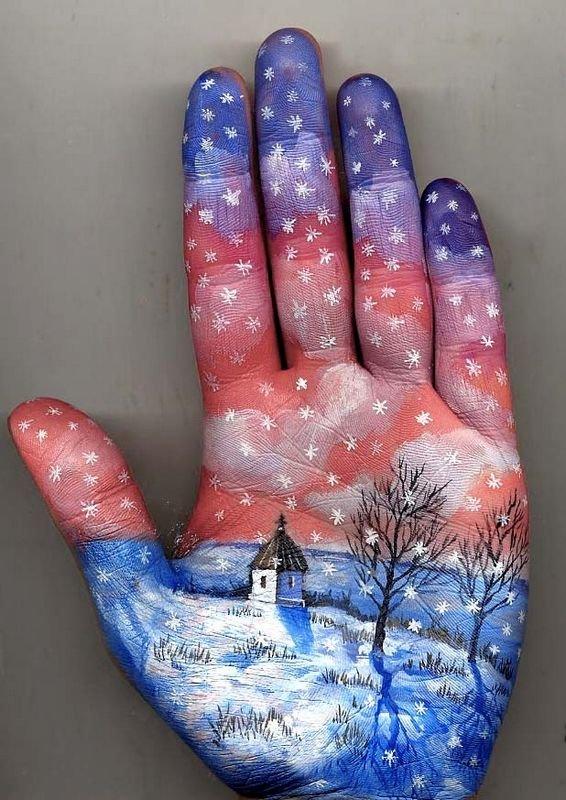 Beautiful Hand paintings by Svetlana Kolosova (11)