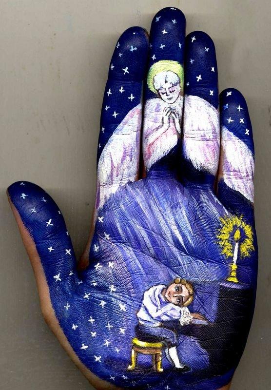 Beautiful Hand paintings by Svetlana Kolosova (9)