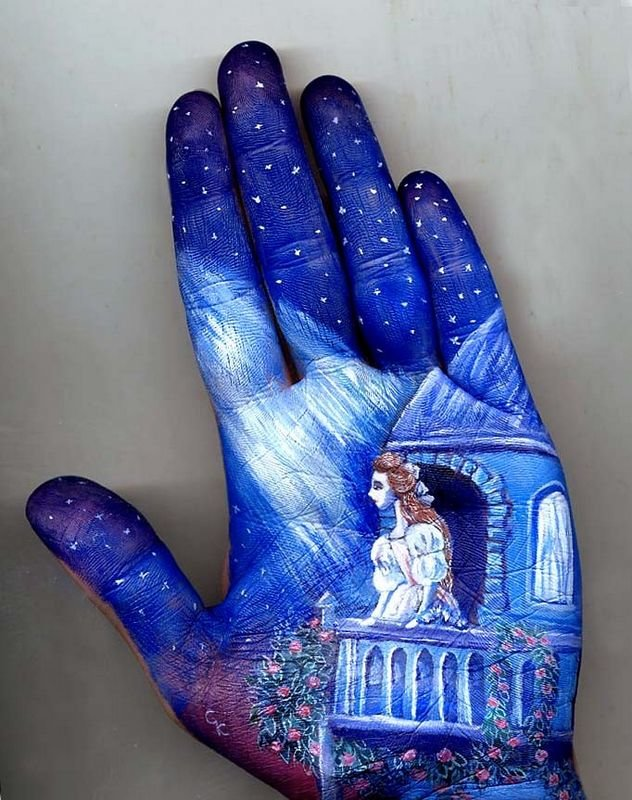 Beautiful Hand paintings by Svetlana Kolosova (8)