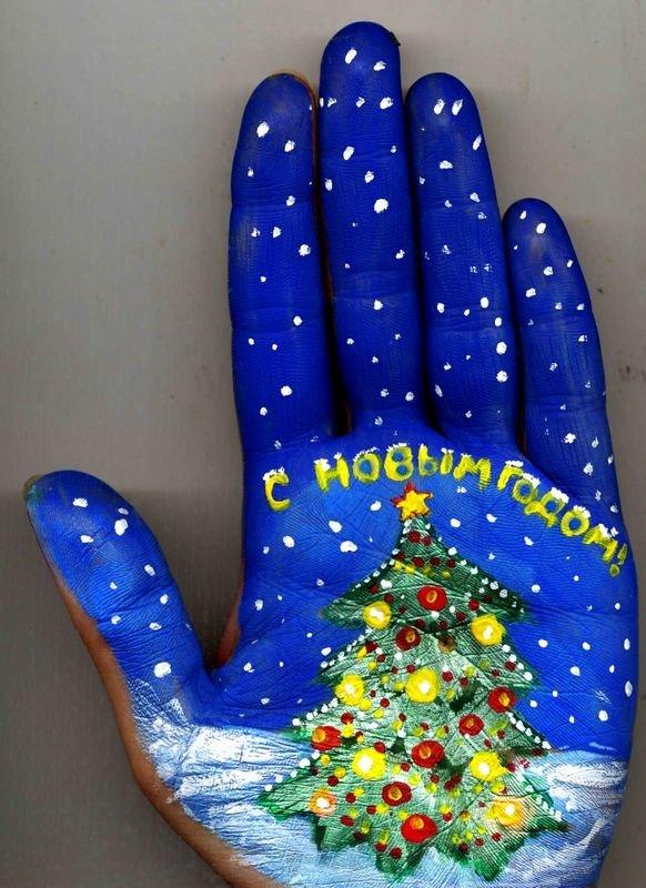 Beautiful Hand paintings by Svetlana Kolosova (3)