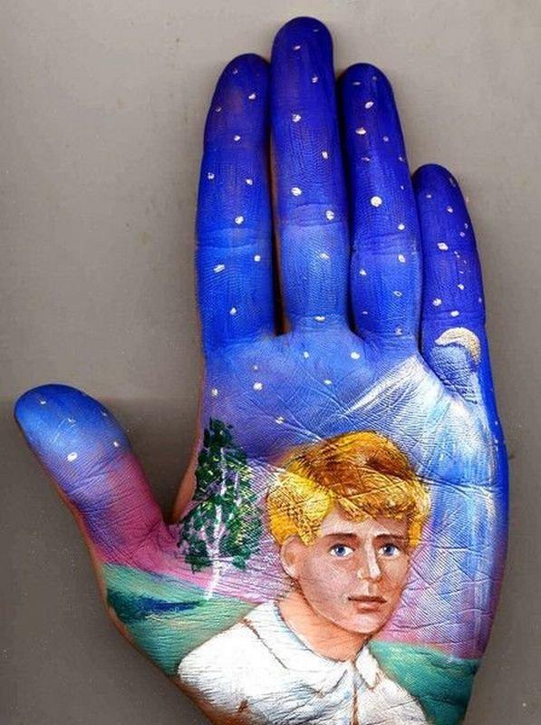 Beautiful Hand paintings by Svetlana Kolosova (4)