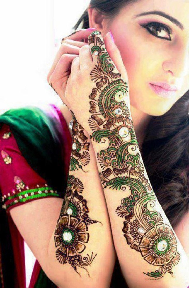 Chand raat mehndi henna designs 2014 - Beautiful Mehndi Designs Inspiration Photos