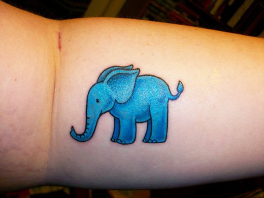 35 Elephant Tattoo Designs (35)