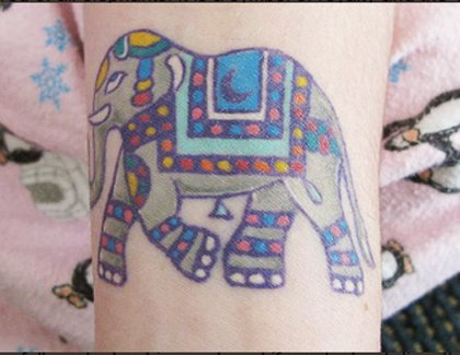 35 Elephant Tattoo Designs (33)