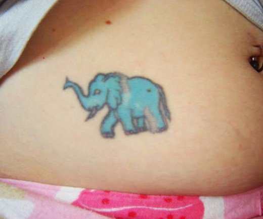 35 Elephant Tattoo Designs (28)