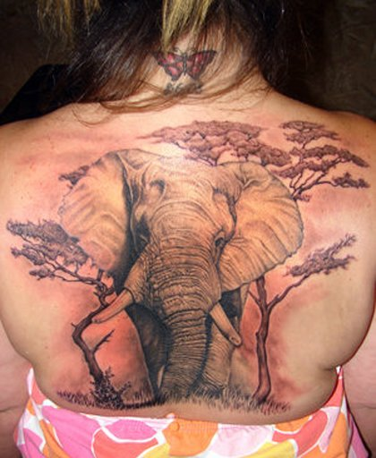 35 Elephant Tattoo Designs (27)