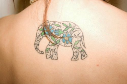 35 Elephant Tattoo Designs (21)