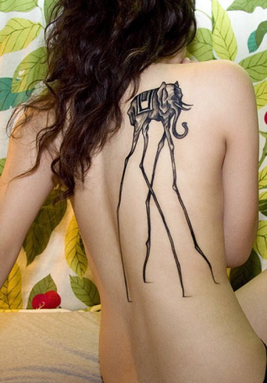 35 Elephant Tattoo Designs (15)