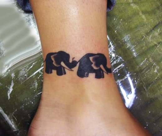 35 Elephant Tattoo Designs (12)