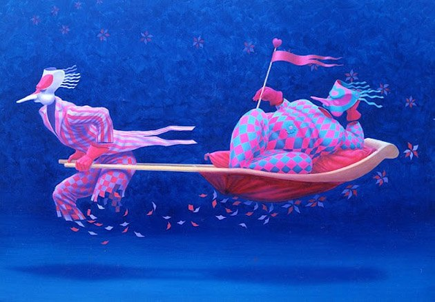 Romantic Dreamlike Paintings by Claudio Souza Pinto  (28)