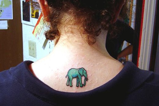 35 Elephant Tattoo Designs (7)