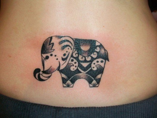 35 Elephant Tattoo Designs (4)