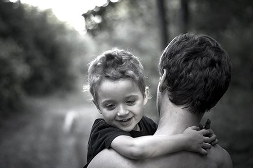 20 emotionally father and child photography