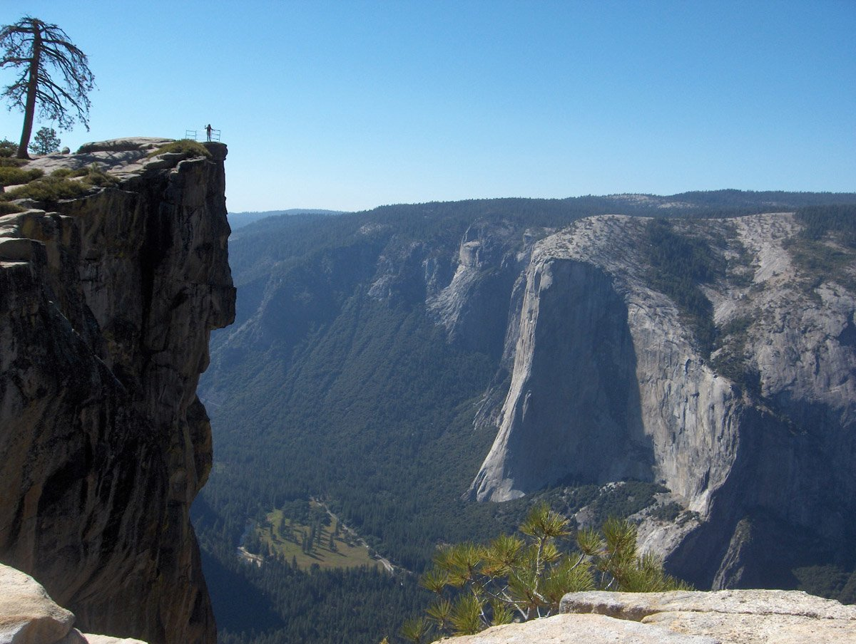 Taft Point at Yosemite National Park, USA