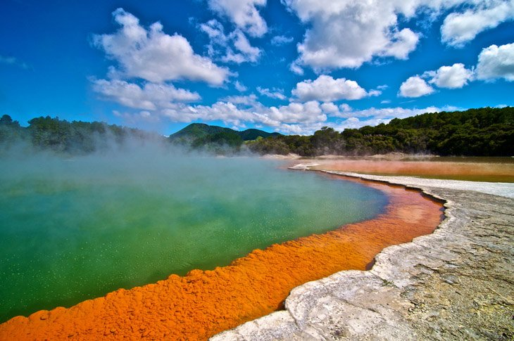 The hottest wonders of New Zealand